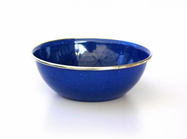 Emaille Schüssel 15 cm, blau