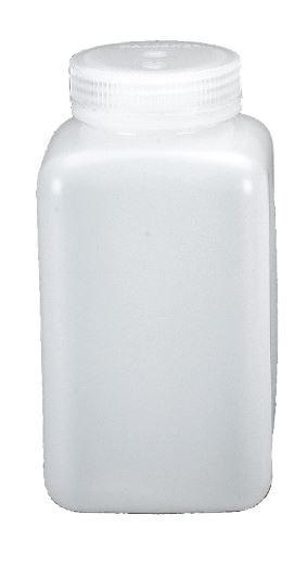 Nalgene Weithalsflaschen, quader 60 ml, Hals Ø 21 mm