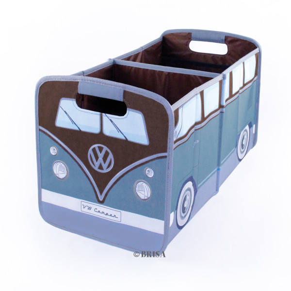 VW Bulli T1 Bus Faltbox in Petrol/Braun