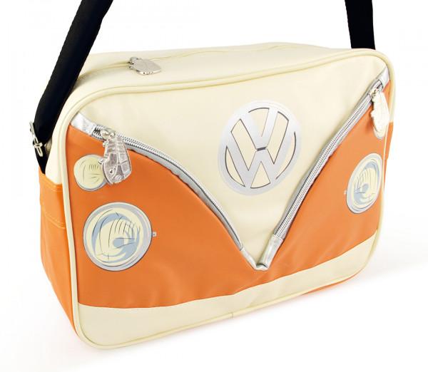 VW Bulli T1 Schultertasche Quer orange