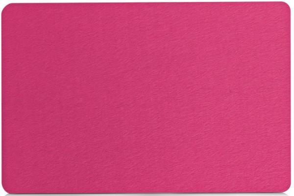 Zeller Filz Platzsets pink 45 x 30 cm