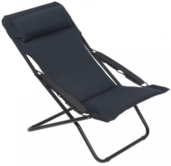 Liegestuhl Camping.Lafuma Liegestuhl Transabed Xl Plus Air Comfort Acier