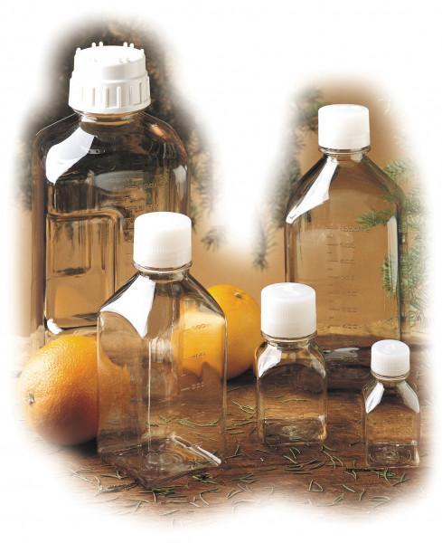 Nalgene Flasche 'Quader', Polycarbonat 60 ml, Hals Ø 18 mm