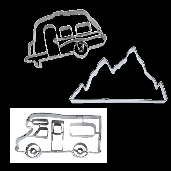 Keks-Ausstecher Set Camping