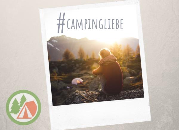 Geschenkgutschein #campingliebe zum Ausdrucken