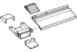 Montagesatz Thule|Omnistor Serie 6 - Montagesatz Omnistor Serie 6 bis 3,50m