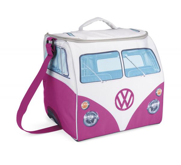 VW T1 Bus Kühltasche pink