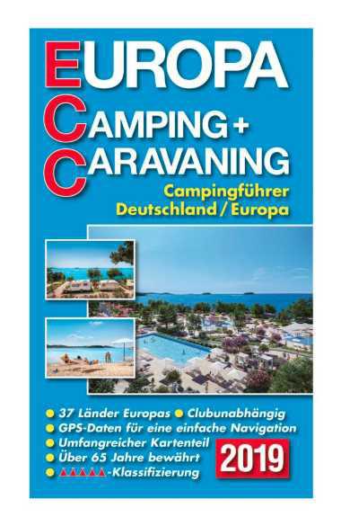 ECC-Campingführer Europa 2019