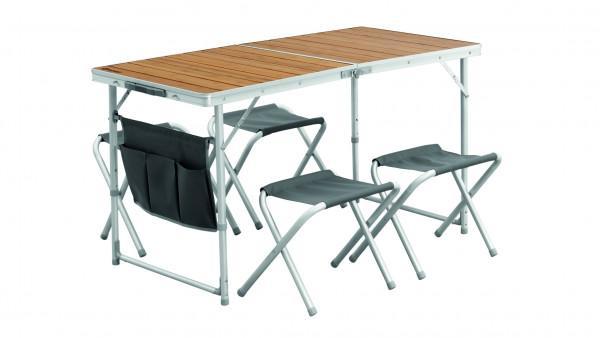 Outwell Picknick Garnitur 'Marilla' Tisch und 4 Hocker