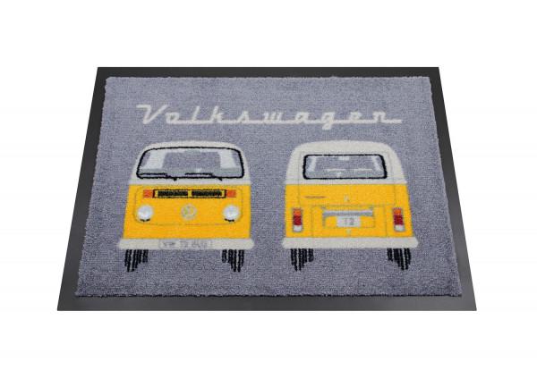 VW Bulli T2 Fußmatte Front & Heck orange
