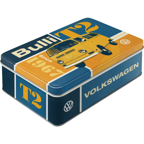 VW T2 Bulli Vorratsdose flach