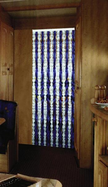 Chenille-Flauschvorhang 100 x 205 cm