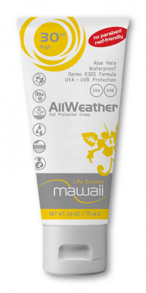 Mawaii AllWeather Protection SPF 30 75 ml