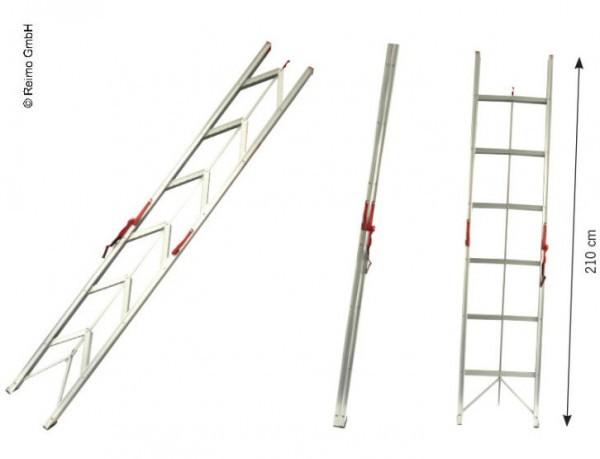 Faltbare Leiter bis 150kg belastbar mit 6 Stufen
