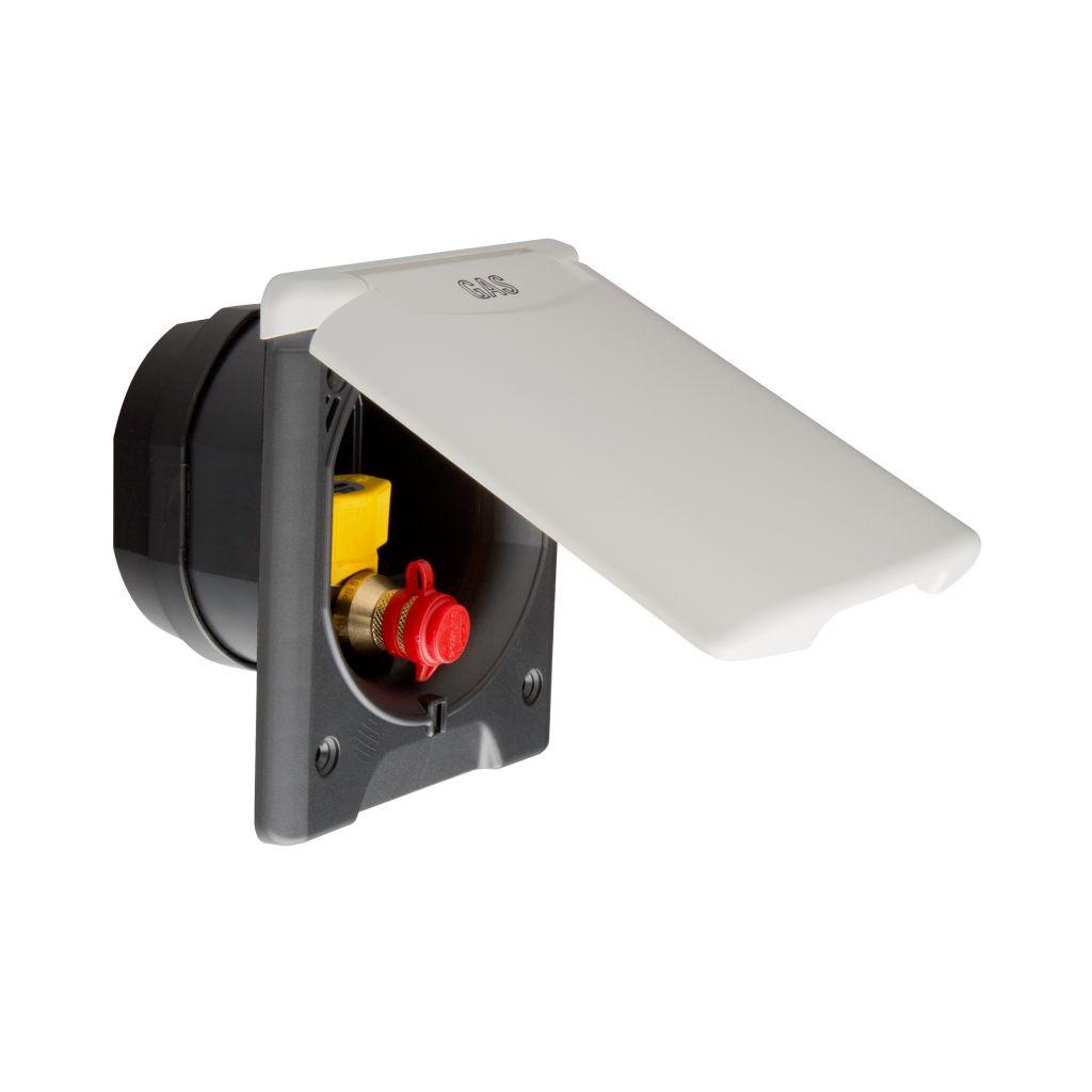 GasSteckdose mit Magnet | 4041431054565