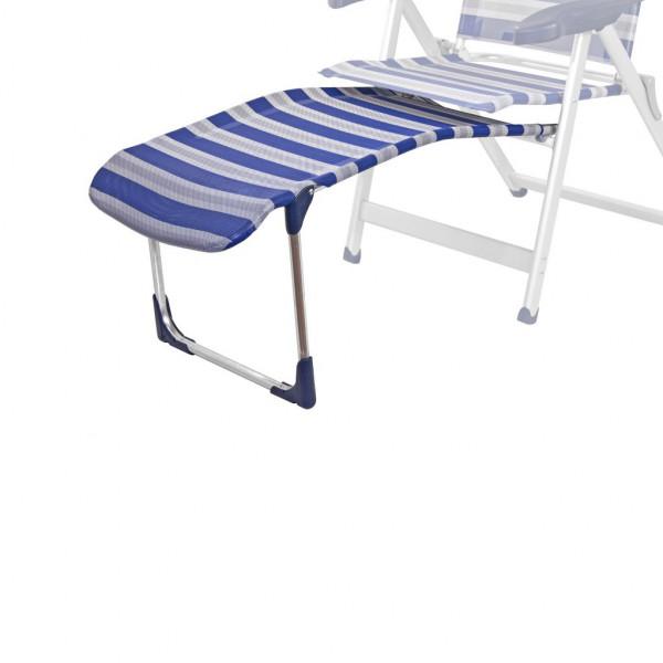 Crespo Fußauflage R/215-M blau grau