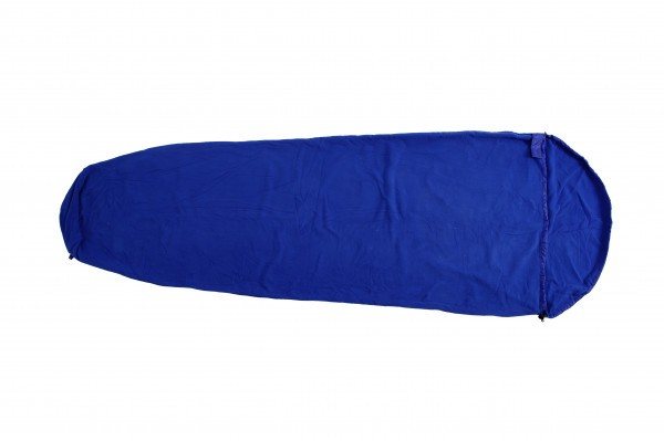 pretty nice b85b1 ab5db Basic Nature Fleece Schlafsack Mumienform, royalblau