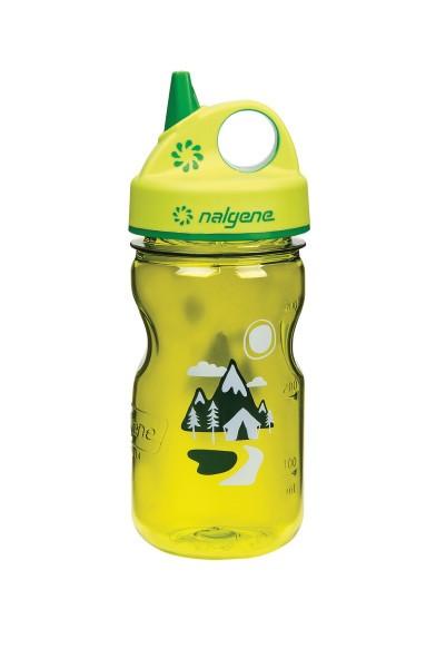 Nalgene Kindertrinkflasche Everyday Grip-n-Gulp 0,35 L gelb Trail