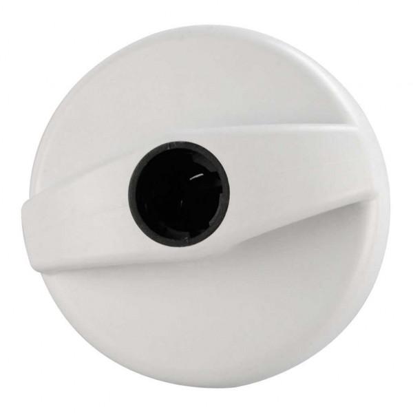 Tankdeckelverschluss bianco weiß für STS Schloss-System