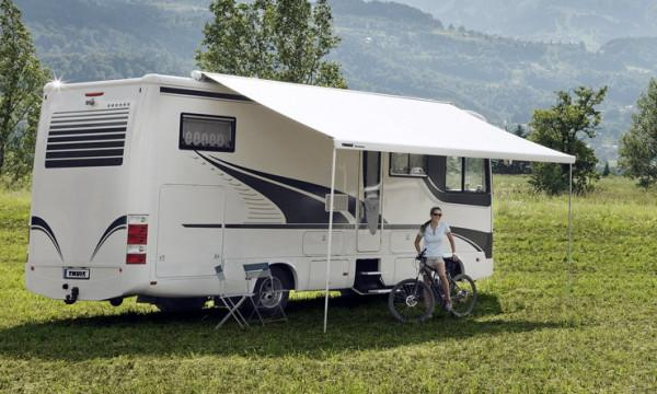 Thule Omnistor 9200 Creme Weiss 4 5 X 3 M Mystic Grau Camping