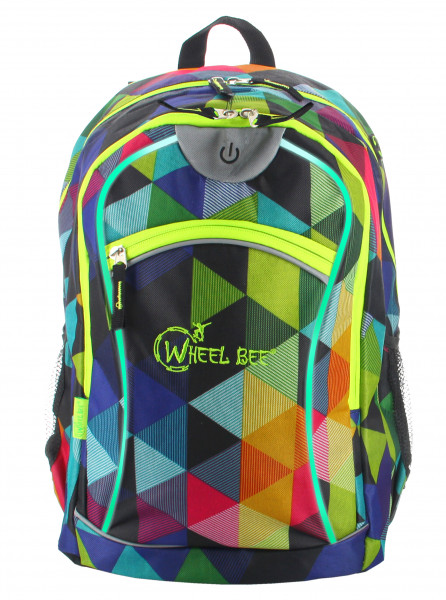 Wheel Bee LED Rucksack Multicolor 30 L