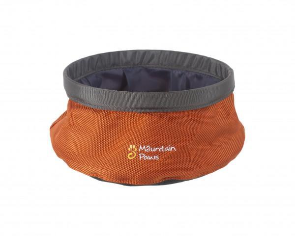 Mountain Paws Wasserschüssel faltbar S orange