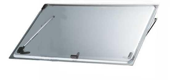 Ersatzscheibe für S 4 Fenster Grauglas 1200 x 500 mm