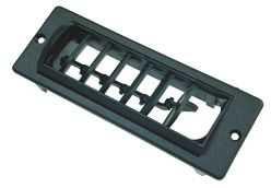 Rechtecklüfter RL schwarz für Klimaanlagen Saphir | 4041431728961