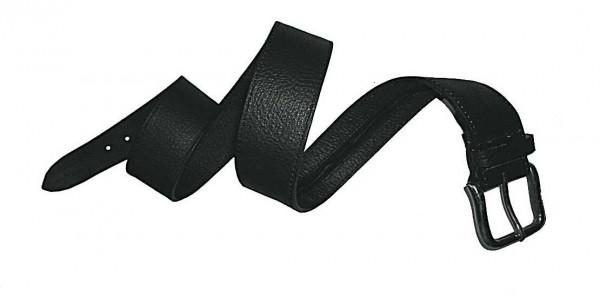 Leathersafe Geldgürtel Shine schwarz 100 cm