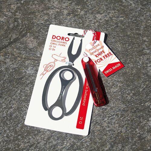 Swiss Advance Grillwerkzeug Doro & Messer