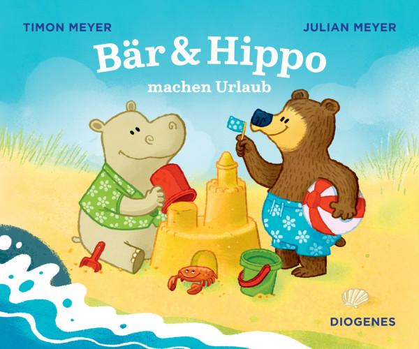 Camping-Kinderbuch Bär & Hippo machen Urlaub