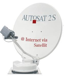 AutoSat 2S 85 Control Internet Twin Skew mit IPcopter-Hardware
