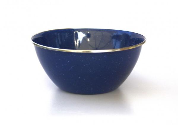 Emaille Schüssel 20 cm, blau