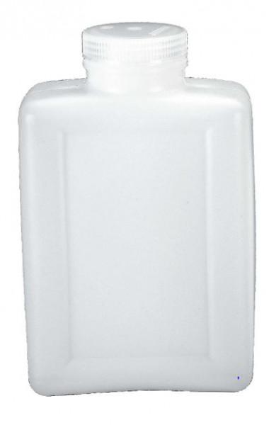 Nalgene Weithalsflaschen rechteckig 2000 ml Hals Ø 44 mm