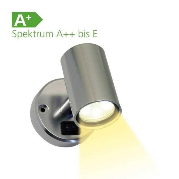 Frilight Spot Minitube D1 18 SMD Aluminium