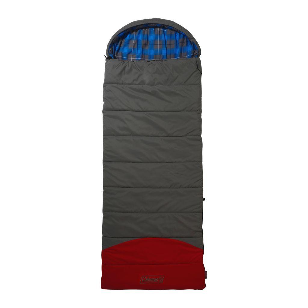 Coleman Deckenschlafsack Basalt Comfort grau rot | 3138522094423