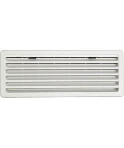 Lüftungsgitter weiß für Thetford-Kühlschränke 48,3 x 18,7 cm