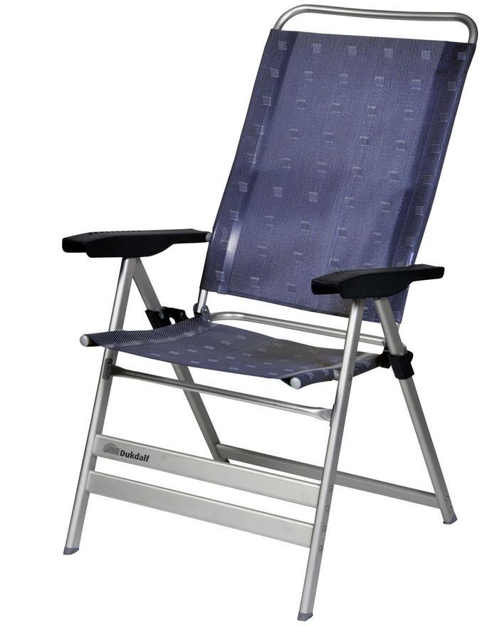 Dukdalf Campingstuhl Grande blau | 8713899044490