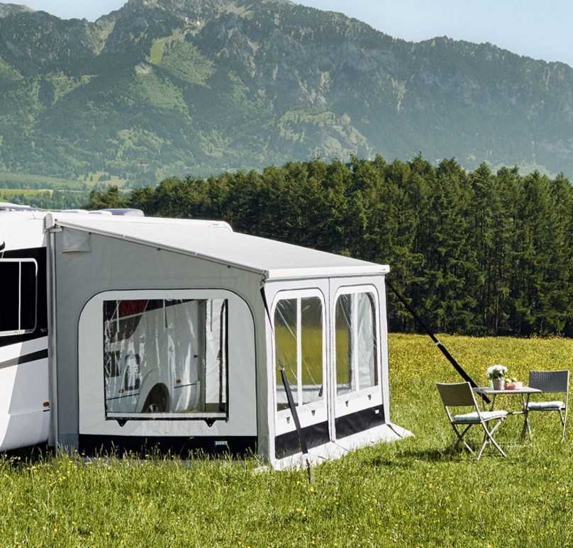 Thule Safari Panorama für Thule Omnistor 5003 für Markisenlänge 45 m Höhe Large | 4041431917082