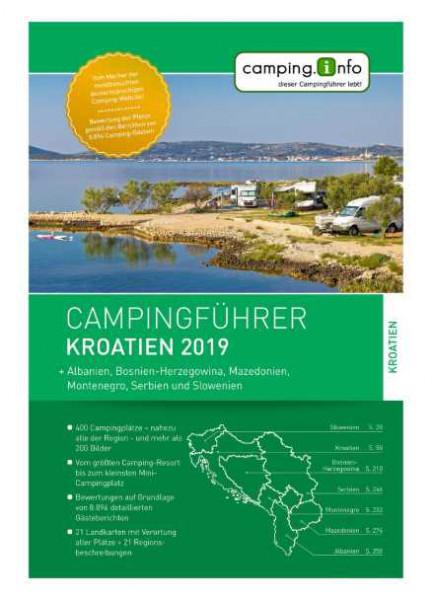 Campingführer Reiseführer Kroatien