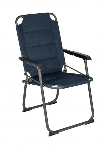 Klappstuhl Classic Air gepolstert blau