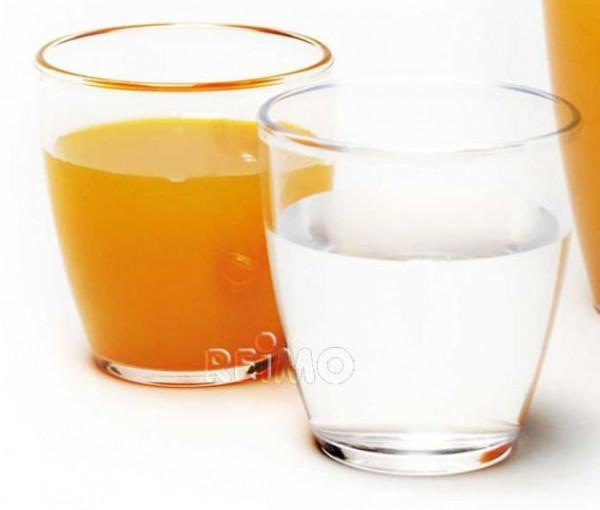 Polycarbonat Gläser Saft 270 ml 2 Stück