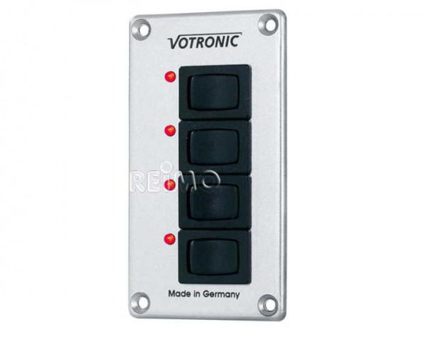 Votronic Schalterpanel mit 4 Schaltern