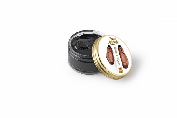 Rapide Schuhcreme für Glattleder schwarz 50 ml