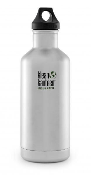 Klean Kanteen Flasche 'Classic Insulated' edelstahl, 0,946 Liter