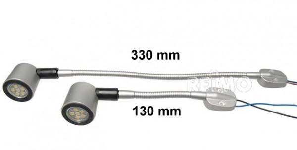 LED Schwanenhalsleuchte 130 mm Länge