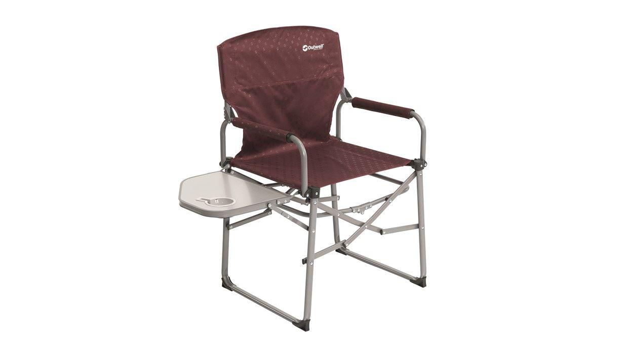 Outwell Picota Claret Campingstuhl mit Seitentisch | 05709388089267