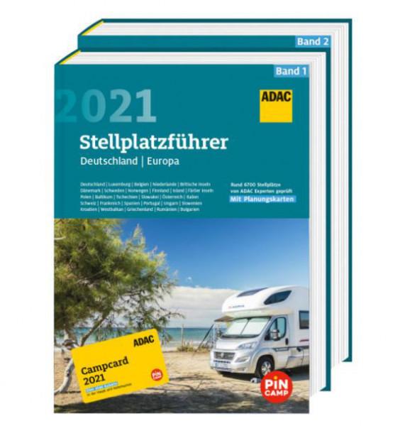 ADAC Stellplatzführer Deutschland Europa 2021
