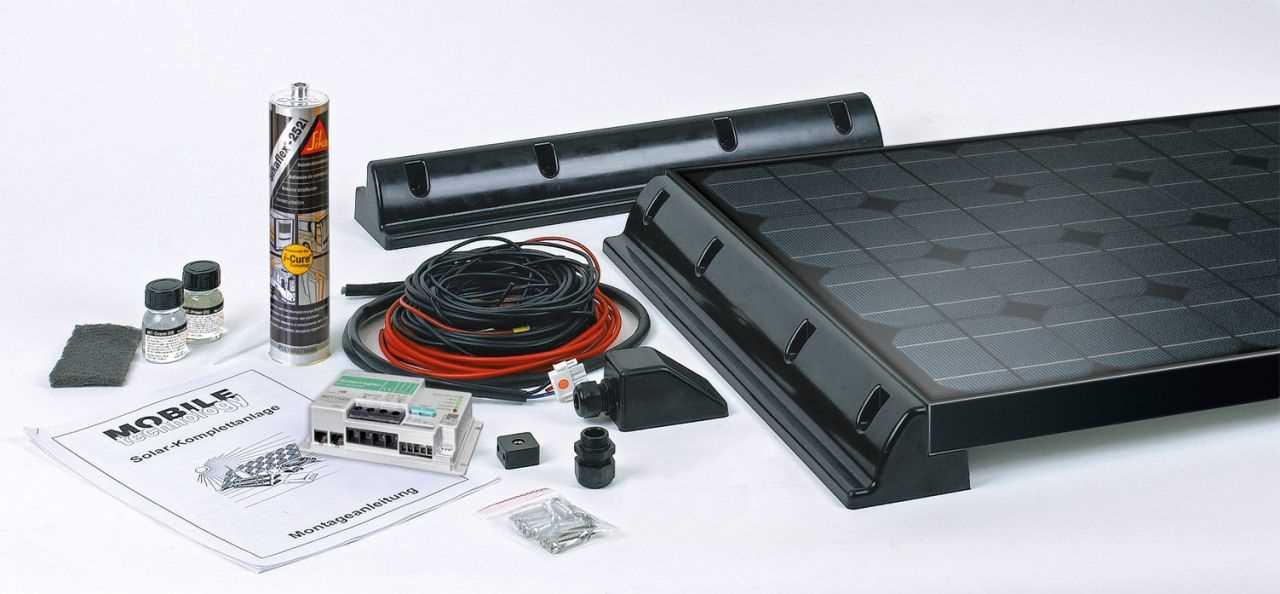 MT Solar Black Line KomplettSolaranlage   4260397962909