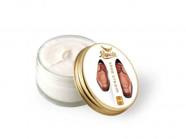 Rapide Schuhcreme für Glattleder neutral 50 ml